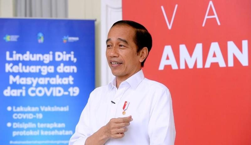 Begini Kesan Presiden Jokowi Usai Disuntik Vaksin COVID-19 Produksi Sinovac
