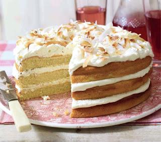 triple layered coconut cake recipe