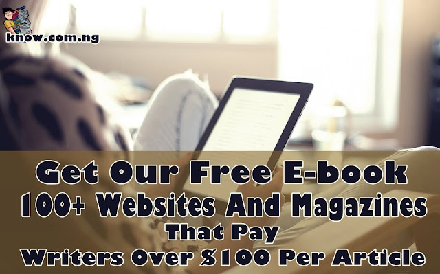 100+ Websites And Magazines That Pay Writers Over $100 Per Article
