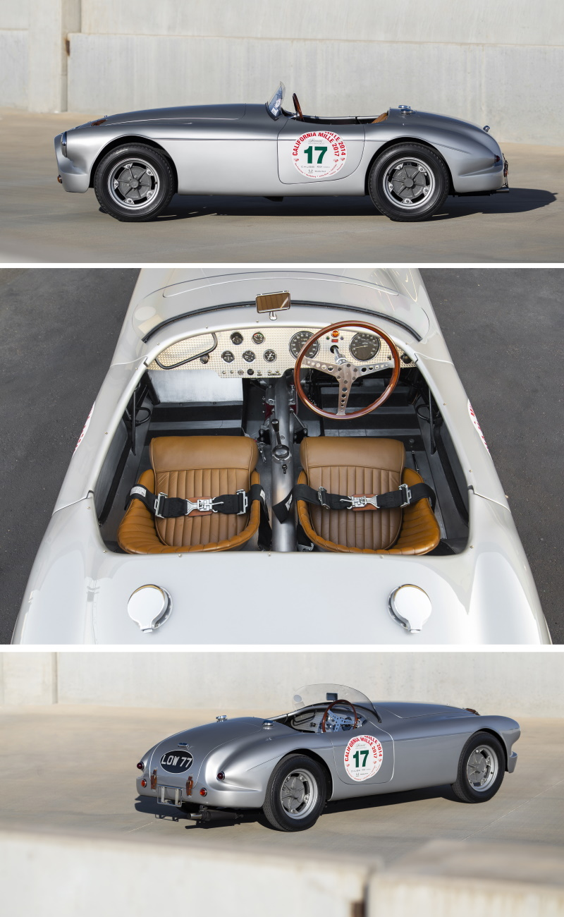 1952 Tojeiro-MG Barchetta