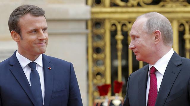Putin ofrece ayuda a Francia tras el incendio de la catedral de Notre Dame