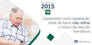 REGIMES DO CASAMENTO (Parcial (Não se comunica os bens ...