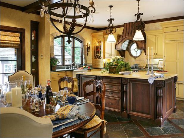 Key Interiors by Shinay Old World Kitchen Ideas