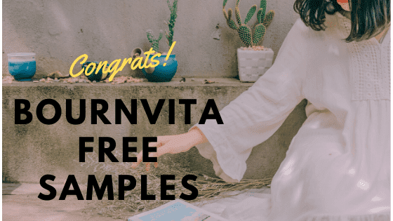 Bournvita Free Samples And Freebies Product