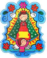 Caricaturas Virgen De Guadalupe Moderna Y Virgencitas Plis