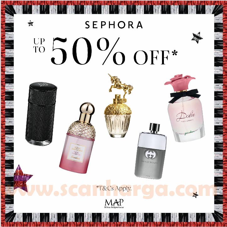 Promo Sephora Holiday Season – Discount up to 50% Off