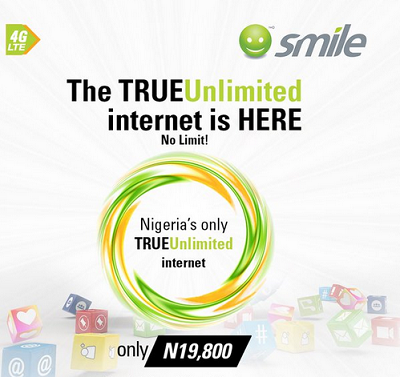Smile NG Launch TRUEUnlimited Plan For Yuletide Season – No Limit, No Throttling