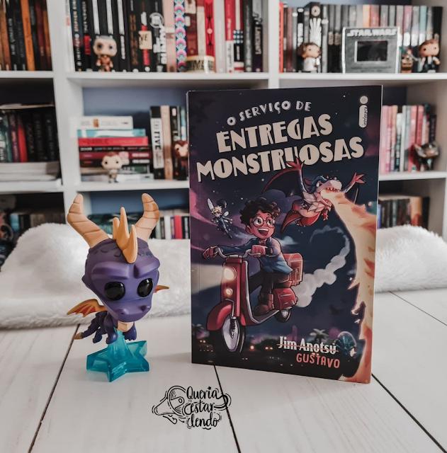 Resenha: O serviço de Entregas Monstruosas - Jim Anotsu