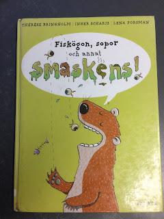 """Omslagbild på """"Fiskögon, sopor och annat smaskens"""" av Bringholm mfl, bild Ninni Malmstedt"""
