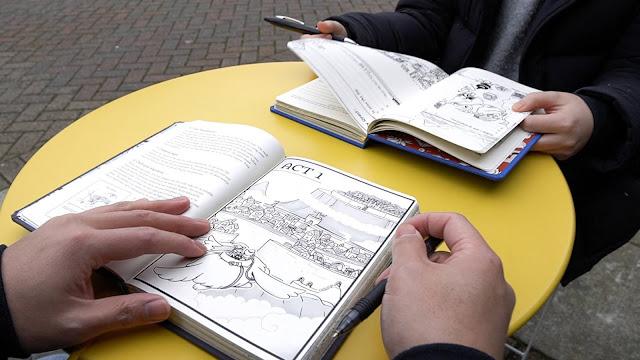 The Hero's Journal Team Releases New Journal, Istoria Magic Academy, on Kickstarter