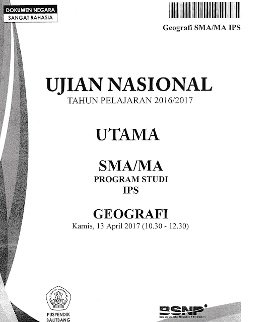 Contoh Soal Un Geografi Dan Pembahasannya - Berbagi Contoh ...