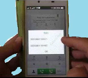 Cek IMEI OPPO Dengan Kode Dial USSD