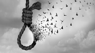 Corda de suicídio em imagem ilustrativa
