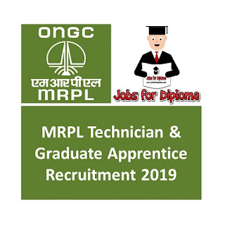 MRPL Technician & Graduate Apprentice Recruitment 2019