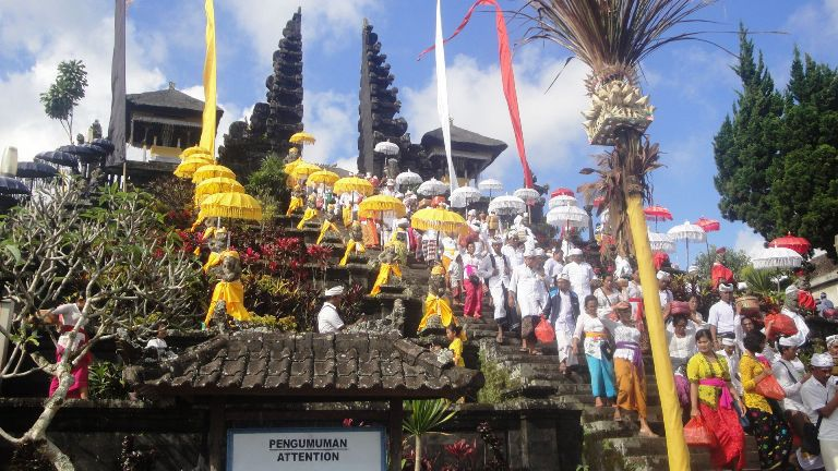 Besakih Hindu Bali Mother Temple Tourist Attraction (Tourist Area) - Tourist, Objects, Attractions, Places, Areas, Destinations, Spots, Regions, Besakih, Village, Rendang, Karangasem, East, Bali, Temples, Shrines, Holy, Places, Sacred, Attractions