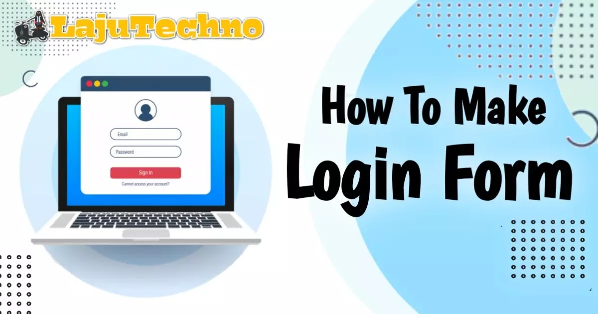 How To Make A Cool Login Form with Floating Placeholders and Light Buttons