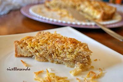 Torta di tagliolini o torta ricciola