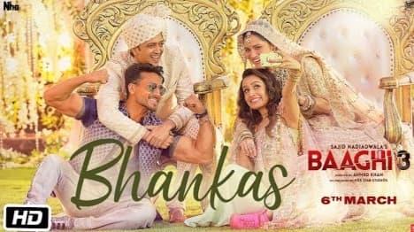 Bhankas Lyrics in Hindi, Bappi Lahiri, Dev Negi, Jonita Gandhi, Baaghi 3