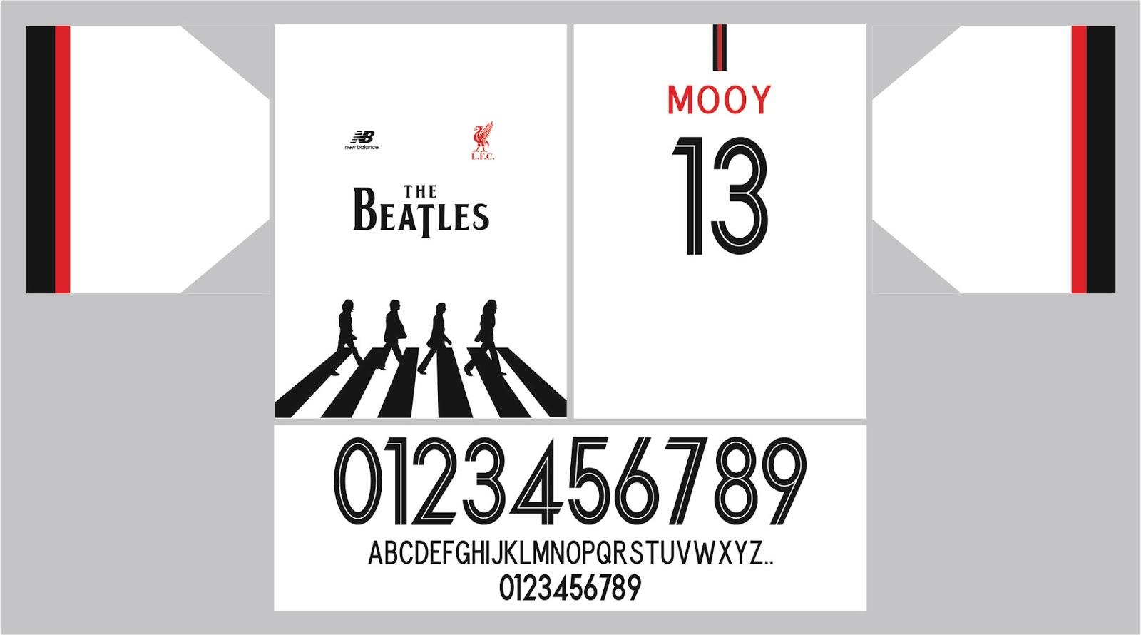 lowest price d82ba b09f5 camisetas y tipografias vectorizados: JERSEY THE BEATLES ...
