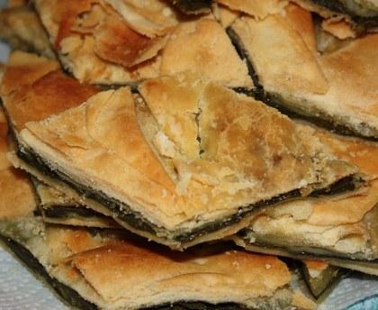 Swiss chard rib tart (torta di erbette)