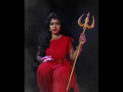 Photography on Goddess Durga