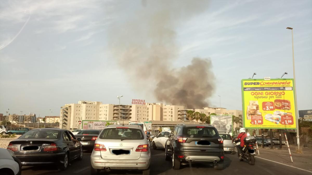 incendio ospedale Garibaldi