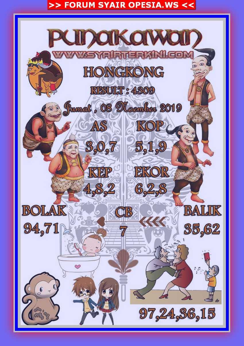 Kode syair Hongkong Jumat 8 November 2019 38