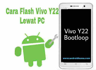 Cara Flash Vivo Y22 yang Bootloop