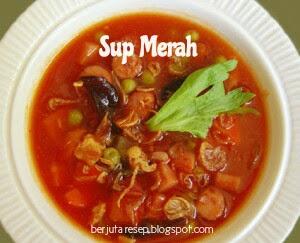Cara memasak sup merah