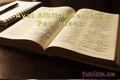 ayat alkitab tentang pencobaan
