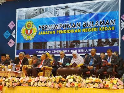 Perhimpunan Bulanan JPN Kedah bagi bulan September 2019