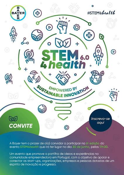 6.ª edição do evento STEM4Health decorre em formato totalmente virtual no dia 30 de junho