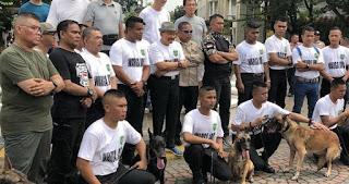Hendropriyono Siap Pinjamkan Anjing Terlatih Bantu Aparat dalam Aksi 22 Mei