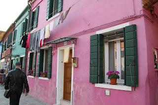 Island of Burano near Venice, Italy