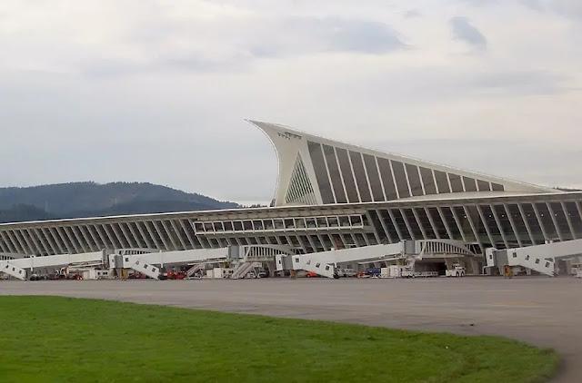 Bilbao Airport, Bilbao, Spain