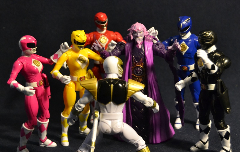 d057012a7e5 Action Figure Adventures  Legacy Black   Pink Rangers - Mighty ...