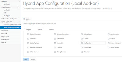 Windows System Setup for Developing Mobile Apps with SAPWebIDE and