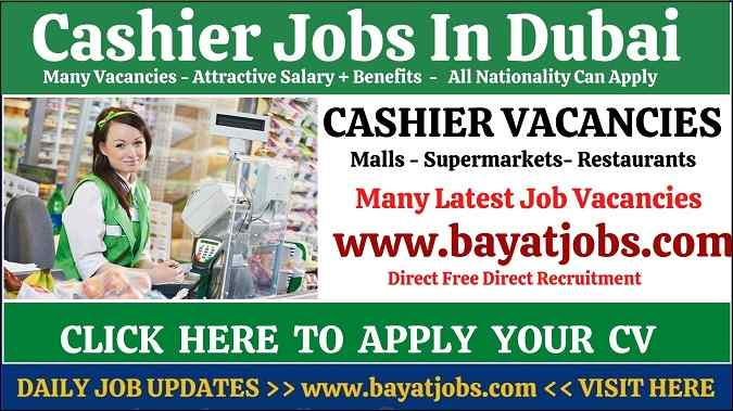 Cashier Jobs In Dubai Latest Vacancies UAE