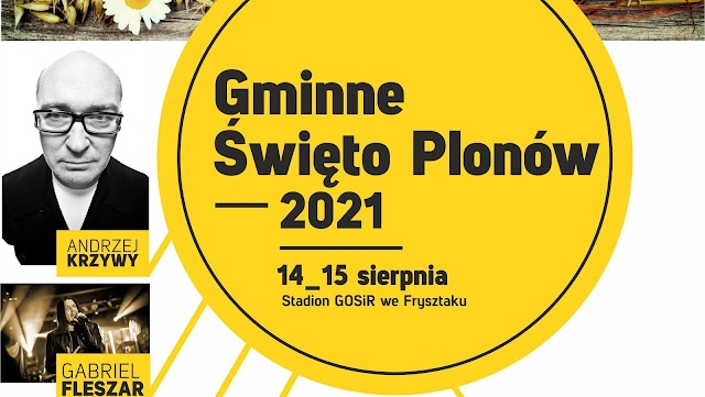 14-15 sierpnia - GMINNE ŚWIĘTO PLONÓW