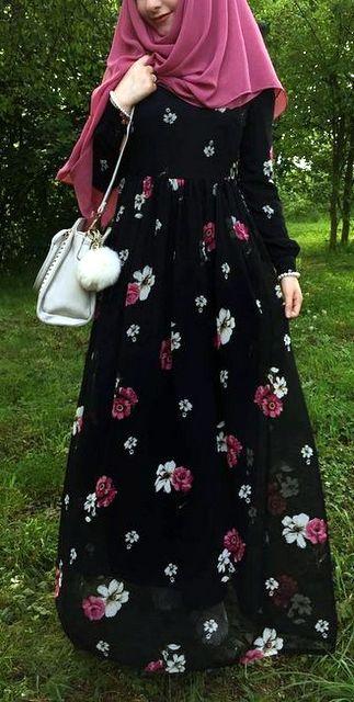 Model baju lebaran motif bunga untuk cewek agar tampil santai