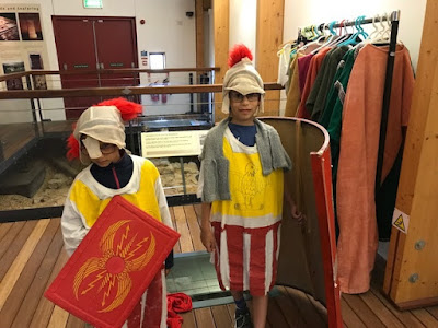 Dressing up as Romans