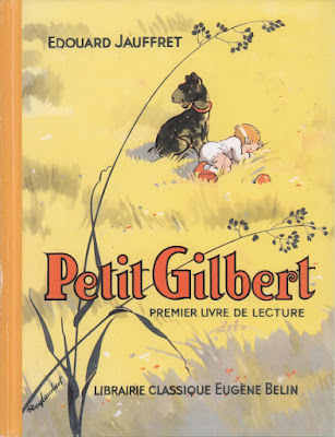 Petit Gilbert, lecture, illustrations de Raylambert (collection musée)