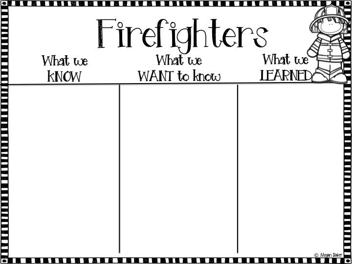 Mrs. Baker's Dozen: Fire Safety in First Grade! We Love