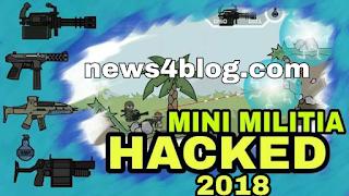 mini militia gane kaise hack kare 2018,minimilitia hack