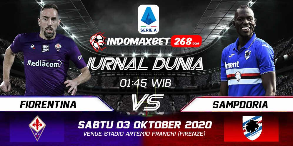 Prediksi Fiorentina Vs Sampdoria 03 Oktober 2020 Pukul 01.45 WIB