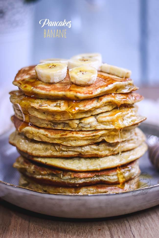 pancake healthy banane