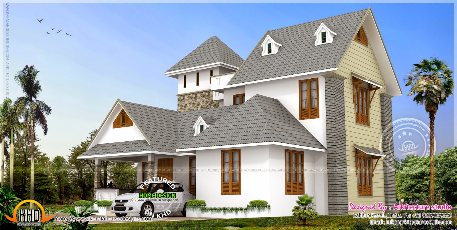 Architectural Design Home plan for Ghana and All Africa