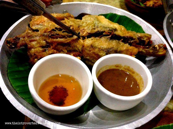 Fried chicken at Apag Marangle