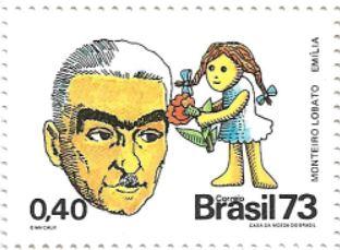 Selo Monteiro Lobato e a Emília