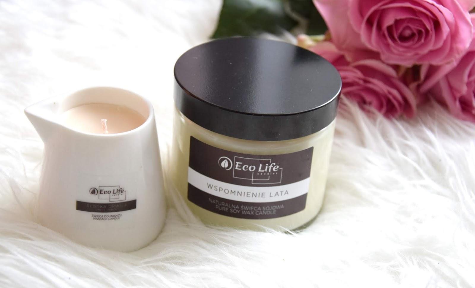 Eco Life Candles: Naturalne świece sojowe oraz świece do masażu.